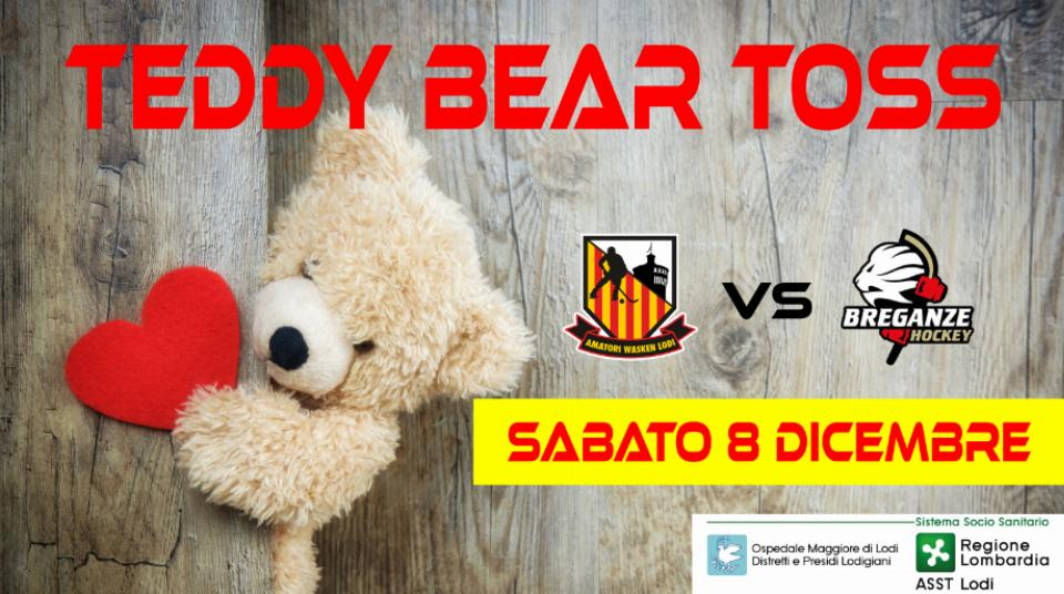 First Amatori's Teddy Bear Toss